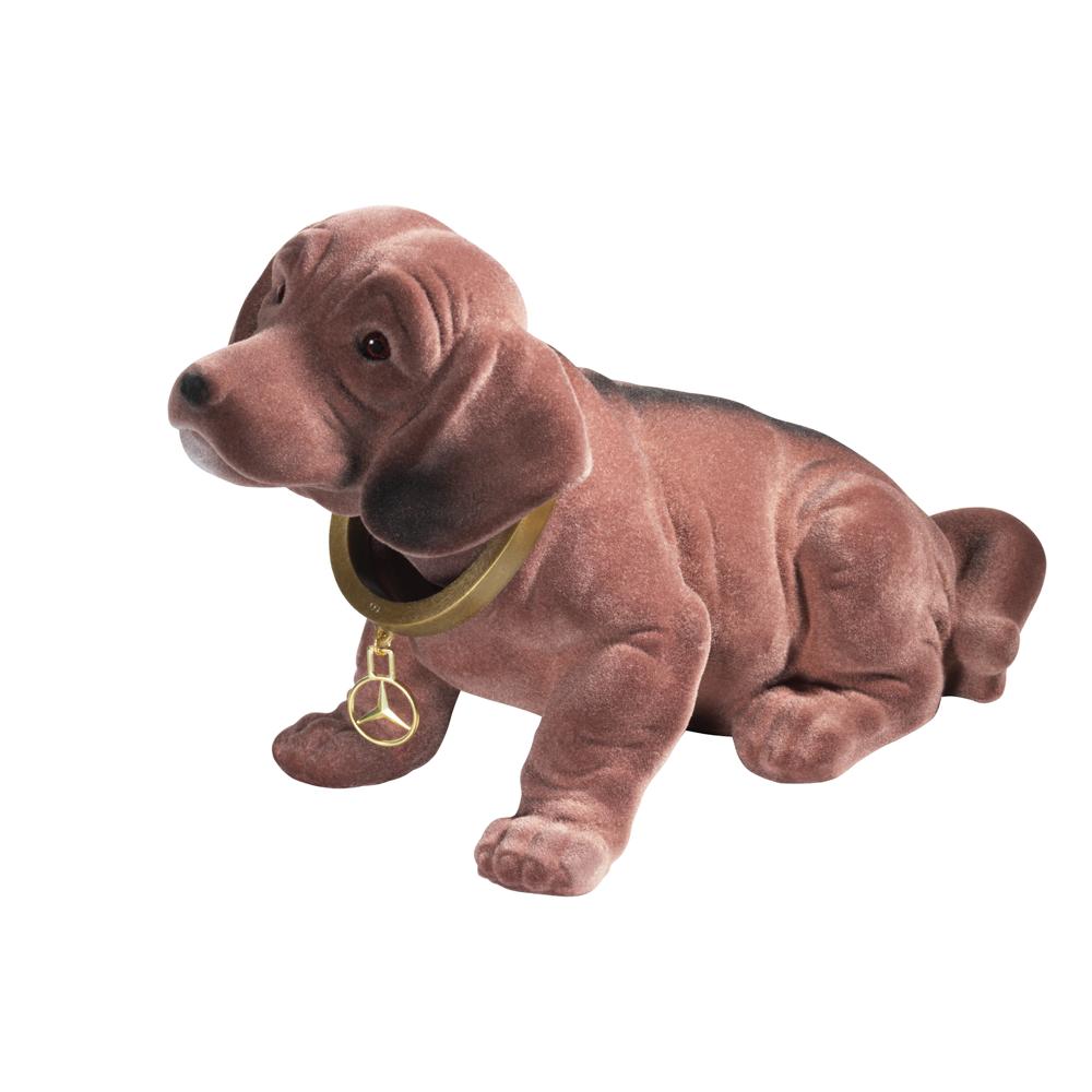 Perro con cabeza basculante